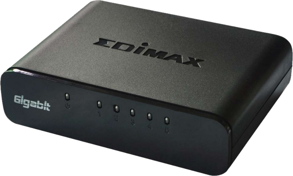 Edimax- 5Port Gigabit Desktop Switch ES-5500G V3